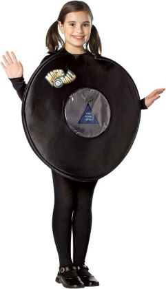 Magic 8 Ball Child Costume: 7-10