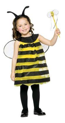 Bee Child Costume: Size (4-6X)