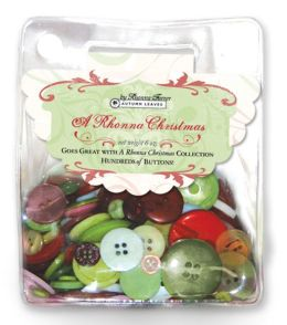 Bag-O-Buttons 6 Ounces-A Rhonna Christmas