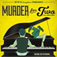 CD Cover Image. Title: Murder for Two [Original Cast Recordings], Artist: Brett Ryback