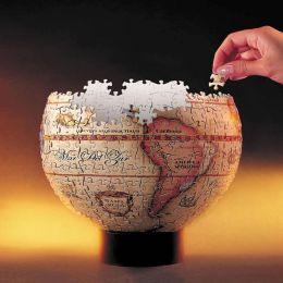 Antique Globe 3D Spherical Jigsaw Puzzle
