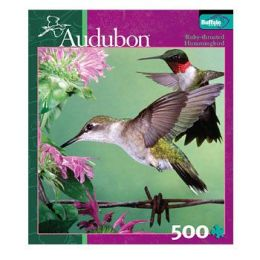 Audubon Jigsaw Puzzles - Ruby-throated Hummingbird