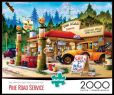 Product Image. Title: 2000pc: Pine Road Service Station