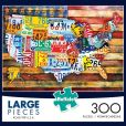 Product Image. Title: 300pc Large piece: Road Trip USA