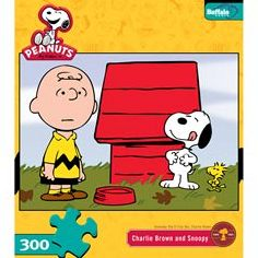 Peanuts - Charlie Brown and Snoopy: 300 Pcs
