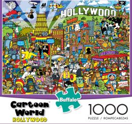 Garbot 1000 Piece Puzzle Hollywood