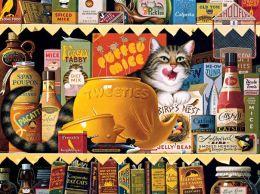 Cats: Ethel, 750 Piece Puzzle by Wysocki