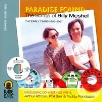 Paradise Found, Songs of Billy Meshel, Early Years 1959-1967