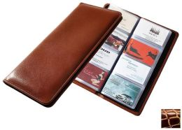 Raika JU 126 WINE 96 Desk Card Case - Wine