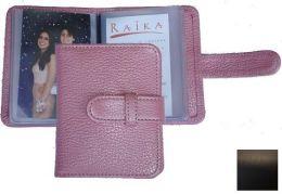 Raika SF 108 BLK 3 x 4 Wallet Photo Card Case - Black