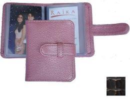 Raika BC 108 BRONZE 3in. x 4in. Wallet Photo Card Case - Bronze