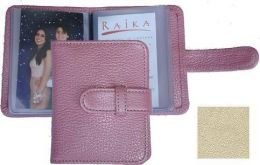 Raika ST 108 BEIGE Wallet Photo Card Case - Beige