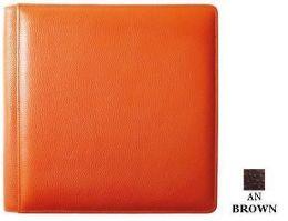 Raika AN 105-F BROWN 11in. x 12in. Single Pocket Album - Brown