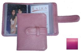 Raika RO 108 MAGENTA 3 X 4 Photo Card Case - Magenta