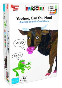 Eric Carle Yoohoo, Can You Moo? Game: Animal Sounds Card Game