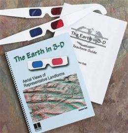 Hubbard Scientific 570 The Earth in 3D Book with 2 pairs of 3D Glasses