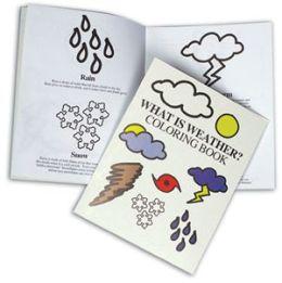 Hubbard Scientific 4980 Weather SymBol Coloring Book