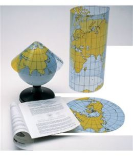 Hubbard Scientific 675 Map Projection Model