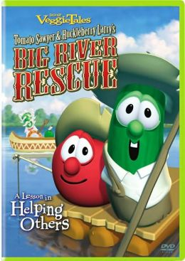 Veggie Tales: Tomato Sawyer and Huckleberry Larry's Big River Rescue - A Lesson in Helping Others