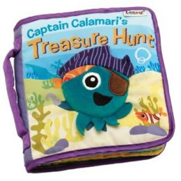 Lamaze Cloth Book - Captain Calamari's Treasure Hunt