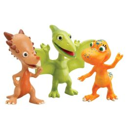 Dino Train 3-Pack Collectible Figures - Don, Spikey, and Annie
