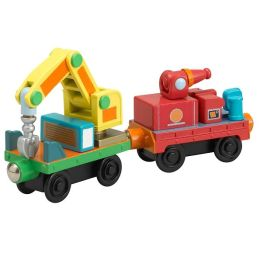 Chuggington Wood Train 2-Pack - Rescue Cars