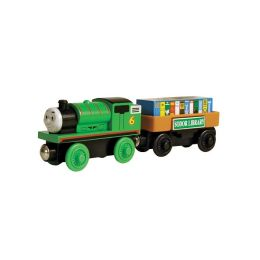 Thomas & Friends Wooden Railway Percy & the Storybook Car