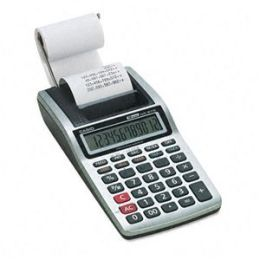 Casio HR-8TM Plus-W GY-W Printing Calculator - HR-8TM