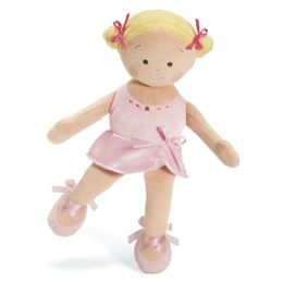 Little Princess Ballerina Blonde 10 inch Plush Doll