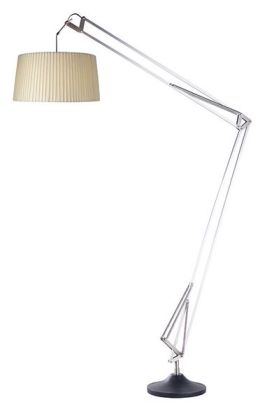 Adesso 4646 Jumbo Architect Floor Lamp Steel 22
