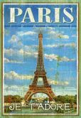 Product Image. Title: Paris-Wood 500 Piece Jigsaw Puzzle