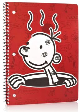Diary of a Wimpy Kid Greg in Manhole Red 1 Subject Lined Notebook