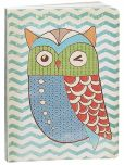 "Product Image. Title: Owl Soft Cover Lined Journal 6"" x 8"""