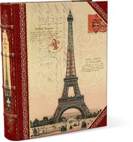 Small Eiffel Decorative Book Box