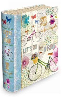 Medium Bicycle Let's Go for a Ride Book Box
