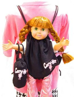 Carry-Her Doll Carrier Backpack – Combo