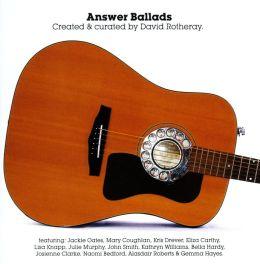 Answer Ballads