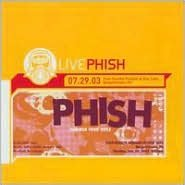 Live Phish 7/29/03, Post-Gazette Pavilion At Star Lake, Burgettstown, PA