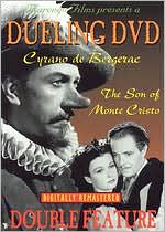 Dueling Dvd Double Feature: Cyrano De Bergerac/the Son of Monte Cristo