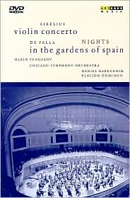 Sibelius: Violin Concerto - Night in the Gardens of Spain