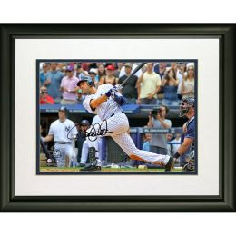 Derek Jeter 3,000th Hit Facsimile Signature 8x10 Photo