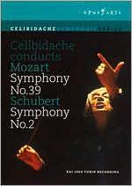 Celibidache Conducts Mozart Symphony No. 39/ Schubert Symphony No. 2