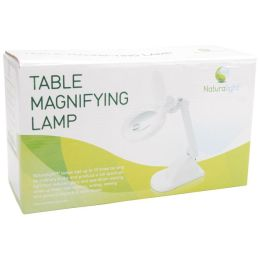 Naturalight Table Magnifying Lamp-White