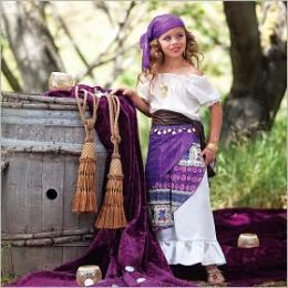 Gypsy Child Costume: Size Small (4-6)
