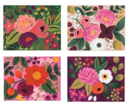 Vintage Blossoms Boxed Cards Set of 8