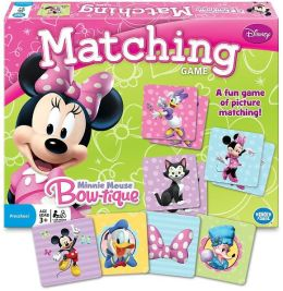 Minnie Mouse Bow-Tique Matching Game