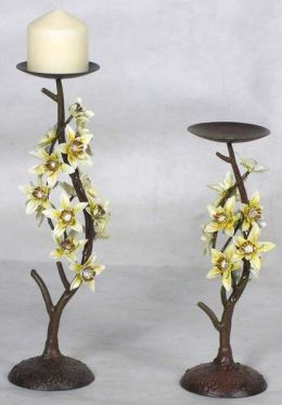 Pinnacle Strategies Decorative Candle Holder W90113-2K - Pack of 4