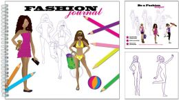 Fashion Journal Activity Book