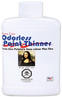 Mona Lisa Odorless Paint Thinner-8 Ounces