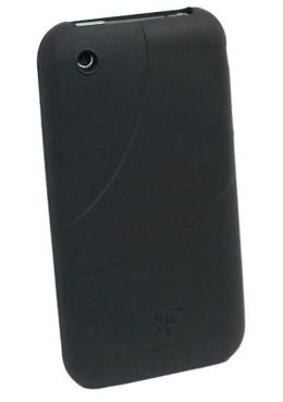 iPhone 3GS Silicone Wrapz Case in Black